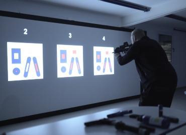 影像模拟(实弹)射击训练系统